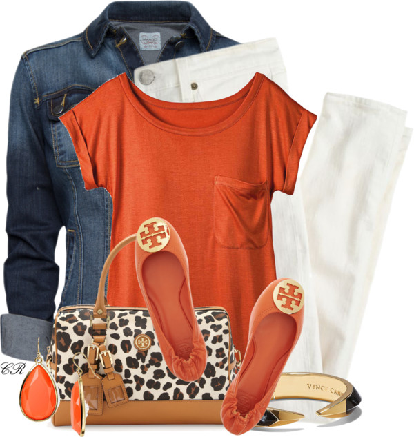 casual outfit with tory burch flat shoes outfitspedia