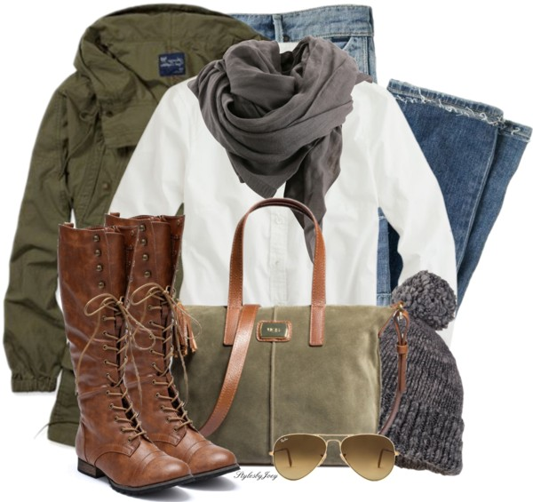 Comfy Teen Fall Outfit With Ugg Boots