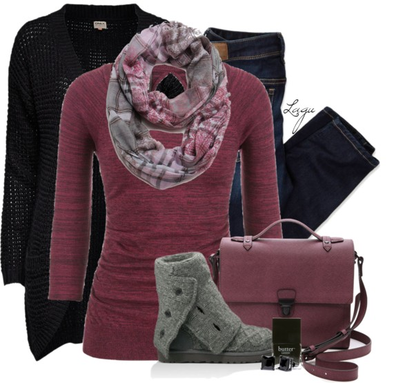 Cranberry Fall Winter Outfit Outfitspedia