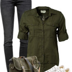 Denim Ralph Lauren With Converse Casual Outfit