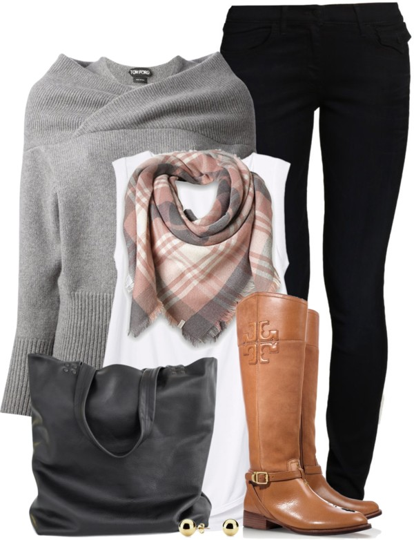 Double Collar Casual Fall Outfit Outfitspedia