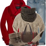 Elbow Patch Knitwear Casual Fall Outfit