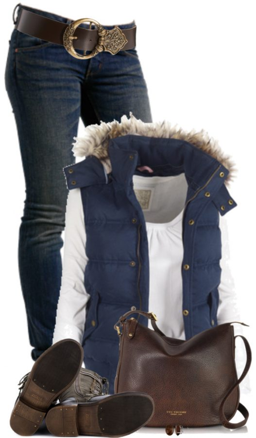 Georgina Gilet Casual Fall Outfit Outfitspedia