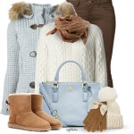 Knit Coat Winter Outfit