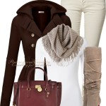 Louboutin Boots and MK Hamilton Bag Fall Outfit