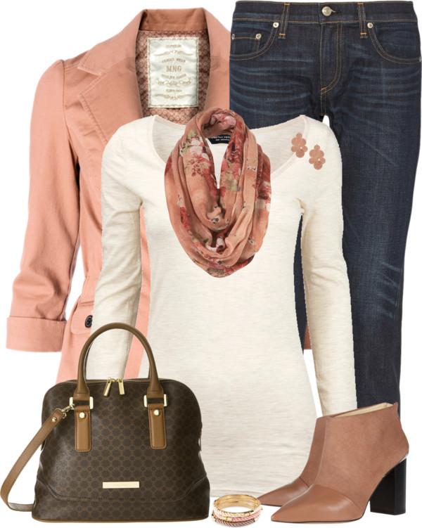 Mango Blazer Casual Fall Outfit Outfitspedia