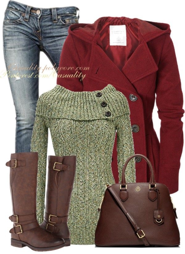 Marilyn Sweater Casual Fall Outfit Outfitspedia