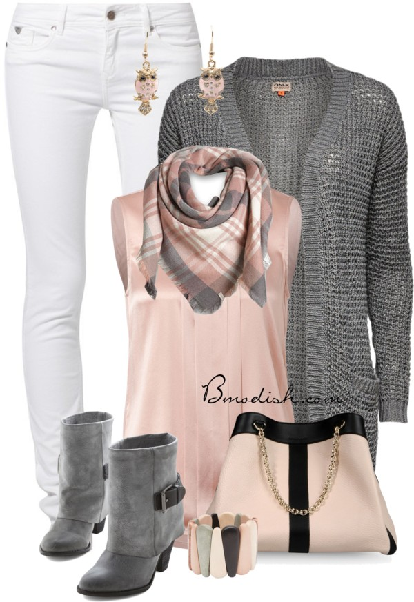 Sexy Loose Knitted Cardigan Fall Outfit Outfitspedia