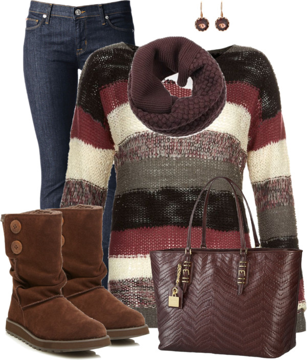 Skechers Boots Simple Fall Outfit Outfitspedia