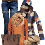Valentino Rustic Color Fall Outfit Combination