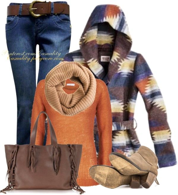 Valentino Rustic Color Fall Outfit Combination Outfitspedia