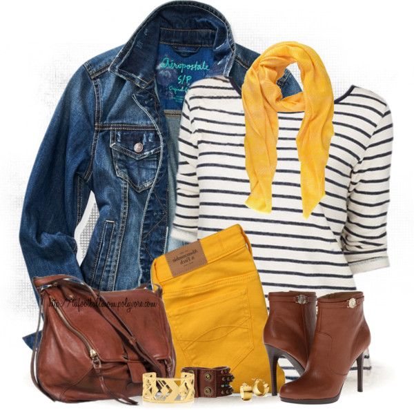 bright yellow jeans for fall outfit outfitspedia