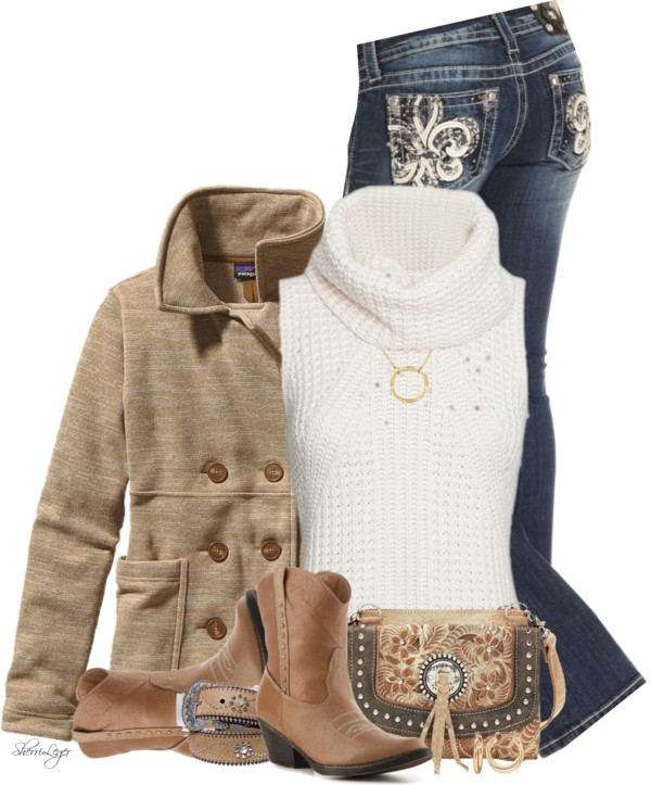 cozy turtleneck sweater outfit combination outfitspedia
