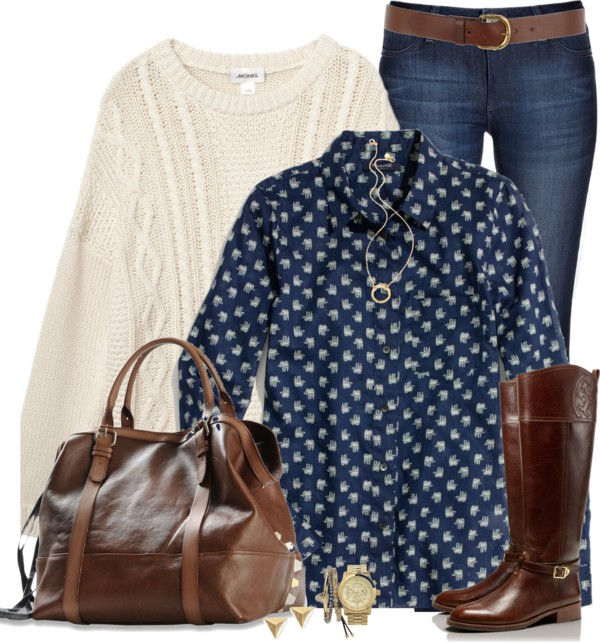 fall outfit idea with riding boots outfitspedia
