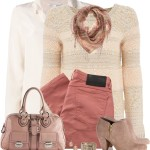 Rose Jeans And Boots Fall Outfit