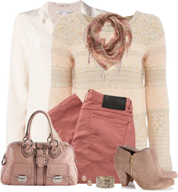 rose jeans and boots fall outfit outfitspedia