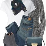 American Eagle Jeans and Ankle Boots Outfit
