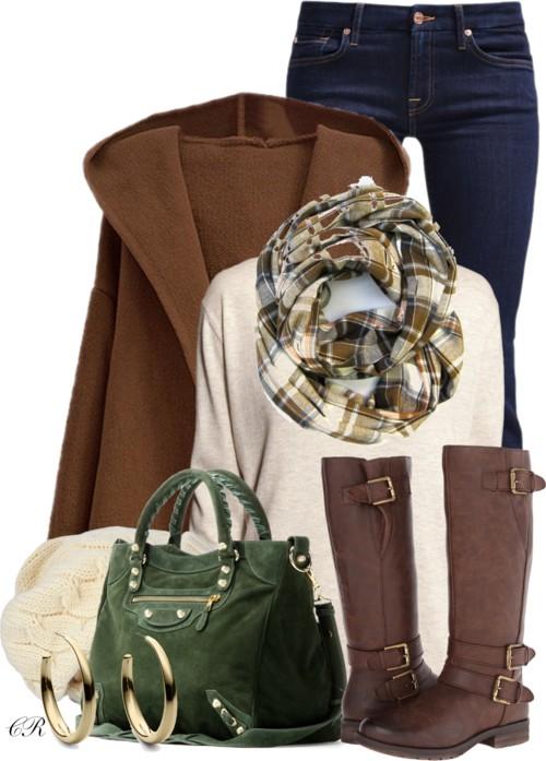 Balenciaga Suede Tote Fall Outfit outfitspedia