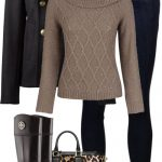 Black, Tan & Leopard Casual Fall Outfit