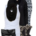 Boots, Cardigan & Leggings Fall Outfit