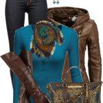 Brahmin Tote Bag Fall Outfit