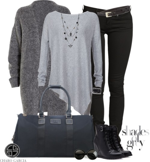 Casual Asymmetrical Boxy Sweater Outfit Outfitspedia