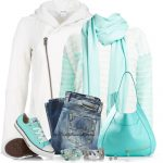 Casual Tiffany Blue Sporty Outfit