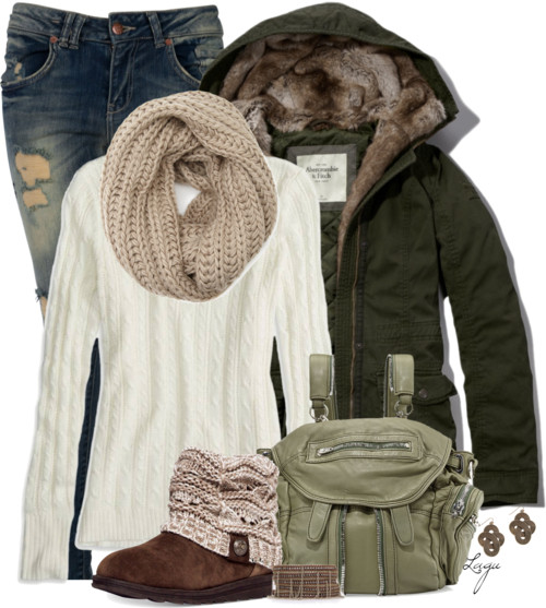 Casual Winter Layers Outfit outfitspedia