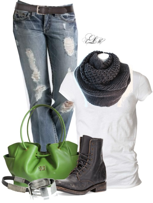 Casual With Combat Boots Outfit Idea outfitspedia