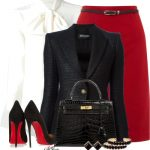 Classic and Stylish Office Outfit Style