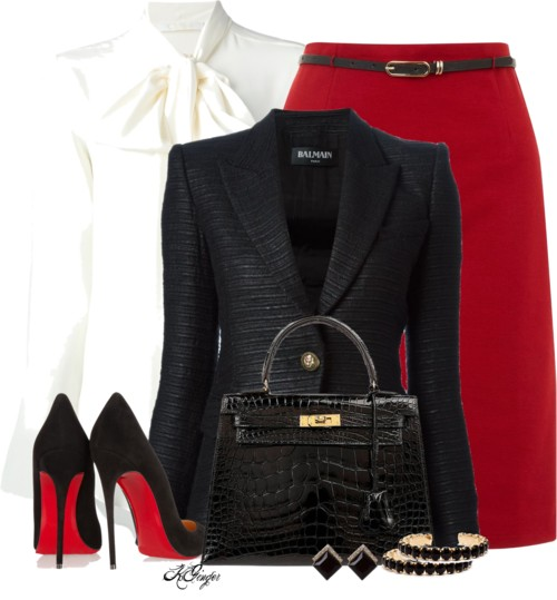 Classic and Stylish Office Outfit Style outfitspedia