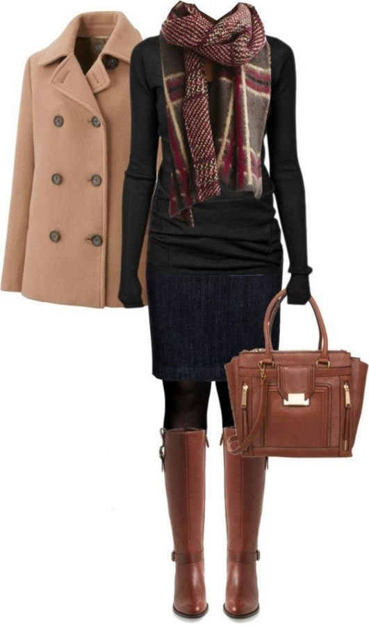 Cole Haan Boots Fall Winter Outfit outfitspedia