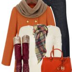 Colorful Weekend Style Winter Outfit