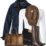 Comfy Quilted Riding Jacket Outfit