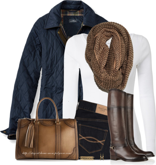 Comfy Quilted Riding Jacket Outfit outfitspedia