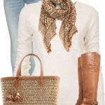 Comfy With Tory Burch Fall Outfit