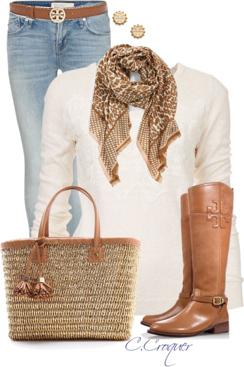 Comfy With Tory Burch Fall Outfit Outfitspedia
