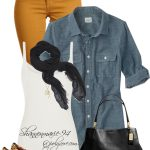 Fall Fashion in Denim Outfit