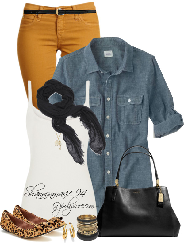 Fall Fashion in Denim Outfit outfitspedia