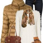 Fay Padded Coat Fall Winter Outfit
