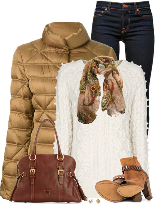 Fay Padded Coat Fall Winter Outfit outfitspedia