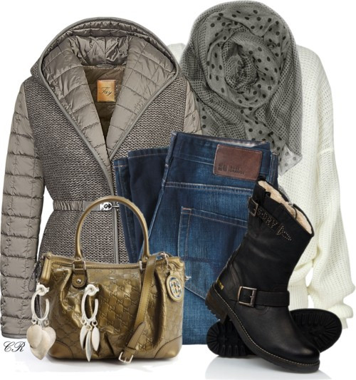 Fay Quilted Jacket Winter Outfit Outfitspedia