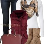 Levis, Vest and Michael Kors Fall Outfit Combination