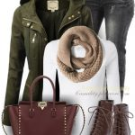 Military Anorak Jacket Casual Fall Outfit