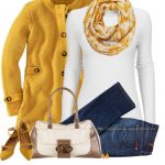 ModCloth Scarf & Flats Cute Fall Outfit