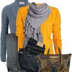 Patch Sweater With Brahmin Tote Bag Fall Outfit