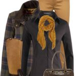 Shearling Riding Boots Fall Outfit