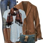Soft Tweed Blazer Fall Outfit