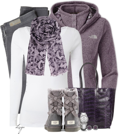 Sporty Ugg Boots Winter Outfit outfitspedia