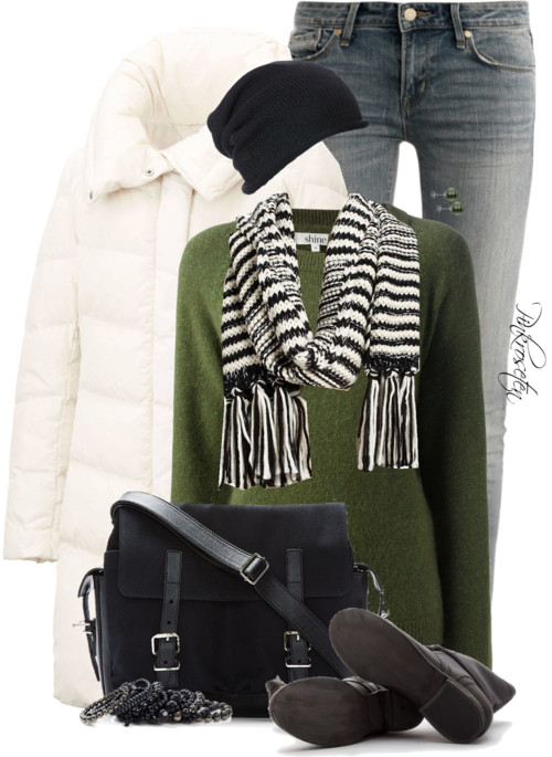 Steve Madden Boots Collar Coat Winter Outfit outfitspedia